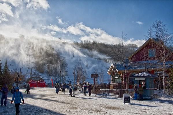 Blue Mountain ski resort, Collingood, Ontario