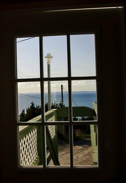 Bed and Breakfast door in Gros Morne Newfoundland