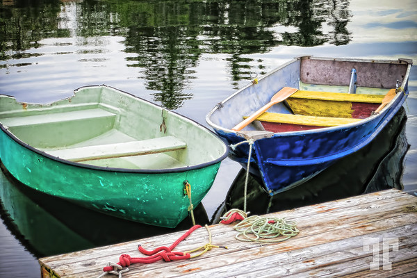 Rowboats in Nova Scotia
