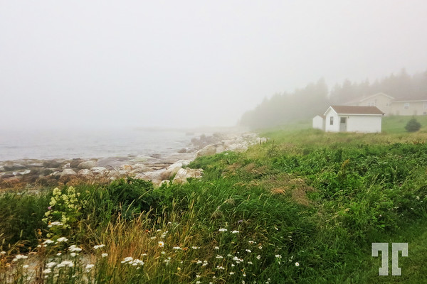 Fog in St. Margret's Bay, near Halifax, Nova Scotia, Canada