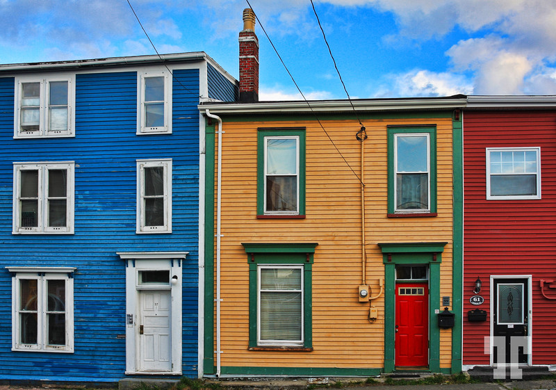 Doors in St. Johns Newfoundland