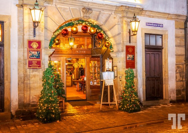 Winter Holidays in Bamberg, Bavaria, Germany