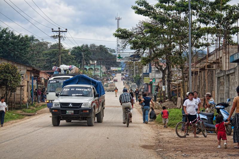 Small village in Guatemala
