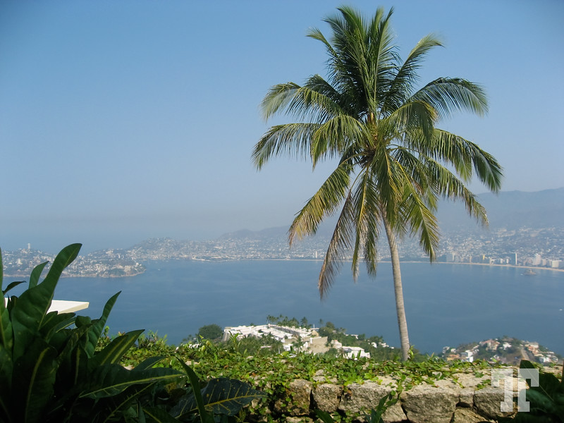 View of Acapulco and Mexico Bay