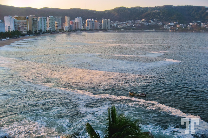 Acapulco beaches around Acapulco Bay