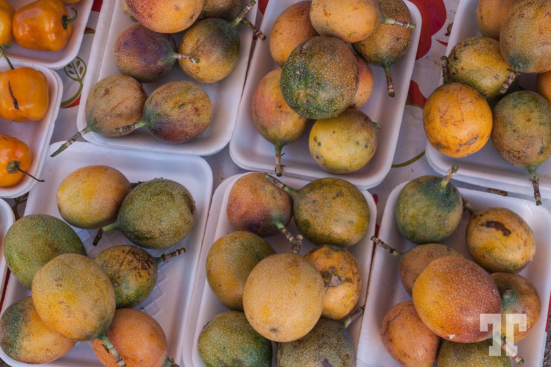 Passion fruit at the Mexican local market