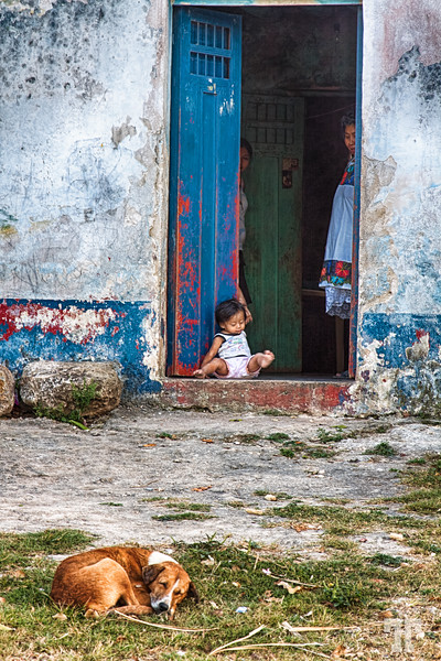 No Place Like Home, rural scene in Coba, Mexico