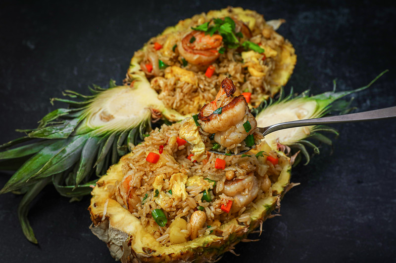 BEST Pineapple Fried Rice