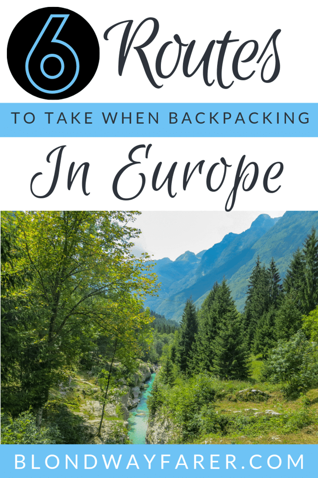 europe backpacking route   backpacking europe routes   backpacking trips europe   best backpacking europe route   backpacking through europe itinerary samples   backpacking routes in europe
