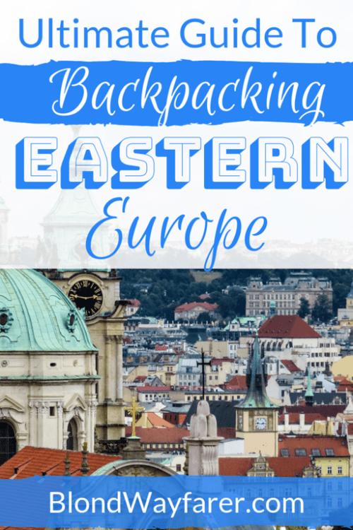 backpacking eastern europe | backpacking eastern europe itinerary | hostels in eastern europe | eastern europe backpacking | guide to backpacking europe