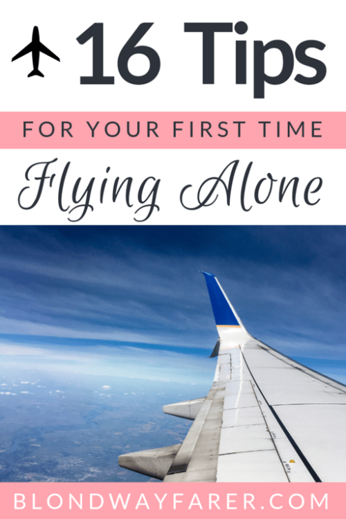 flying alone for the first time | flying alone | flying alone tips | scared of flying alone | fear of flying alone