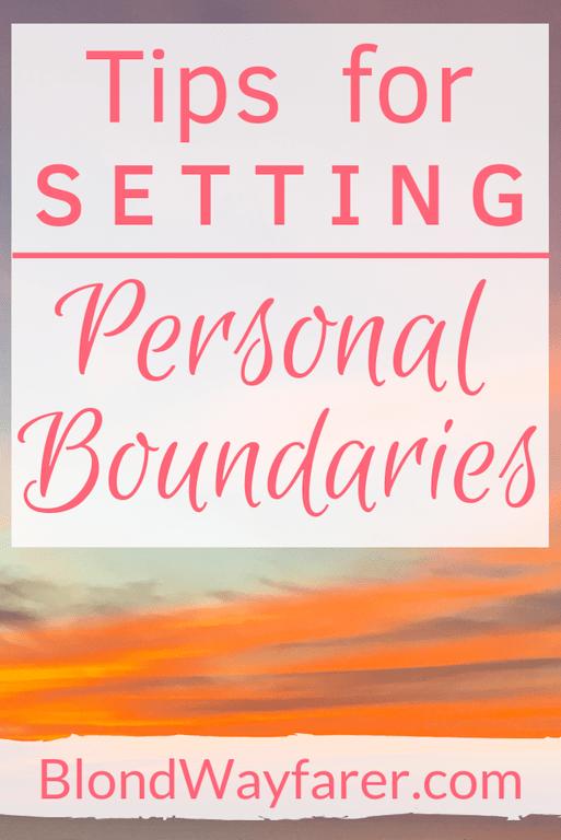 setting personal boundaries | setting healthy boundaries | healthy boundaries in relationships | personal boundaries list | boundaries and self-esteem