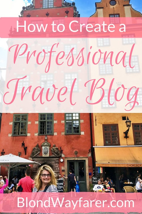 how to create a travel blog