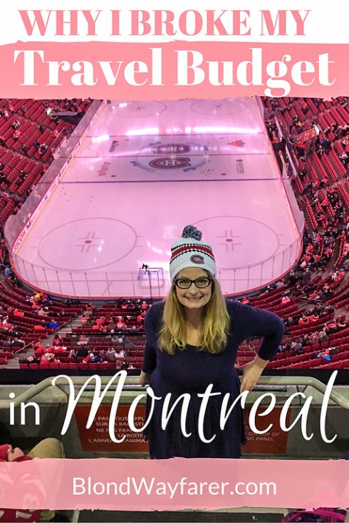montreal travel budget