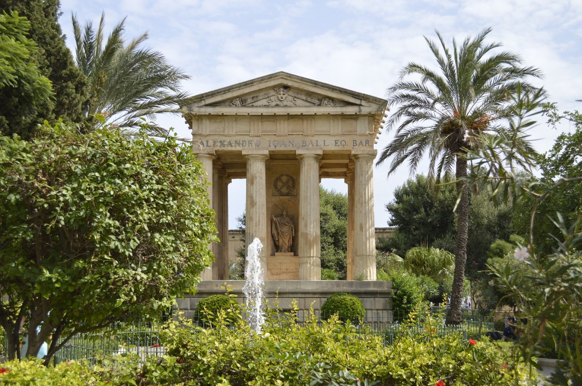 Self-Guided Valletta Walking Tour - Hastings Gardens