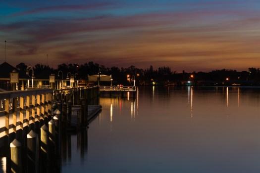 Dawn on the Bridge Street Pier