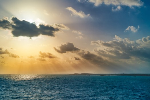 Morning Sun Over Co Co Cay