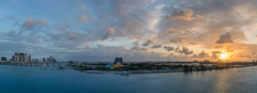 Miami Sunrise Panorama