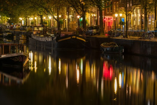 Night Along the Canals