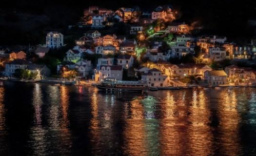Night Scene in Lepetane
