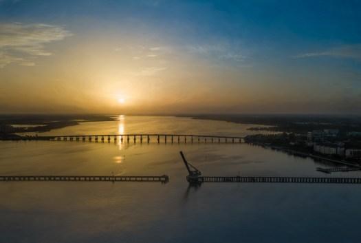 Sunrise over the Manatee River