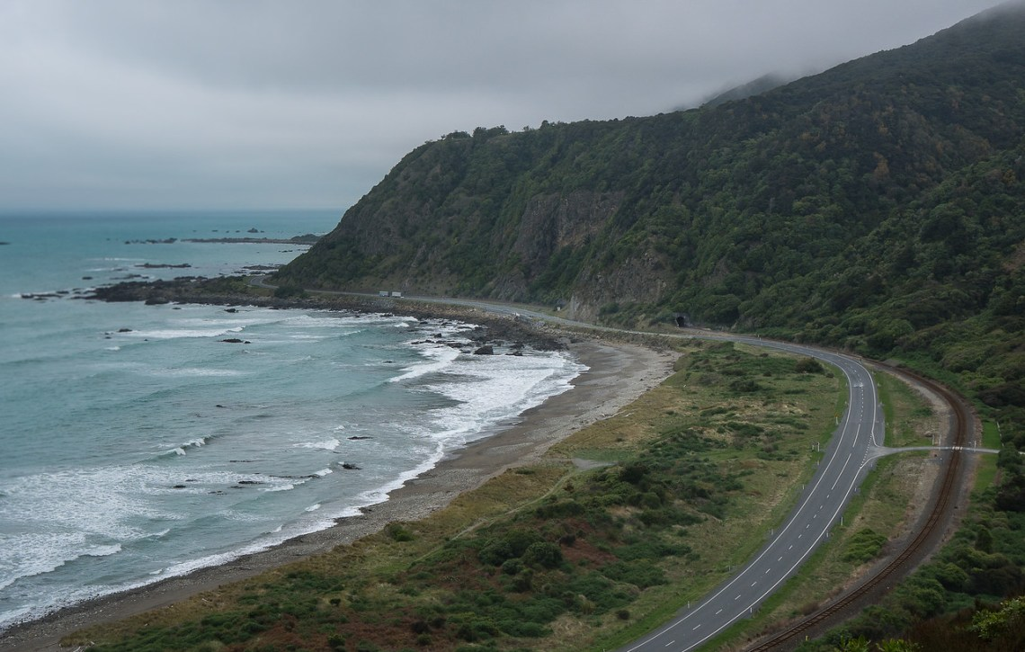 Okiwi Bay and Highway 1