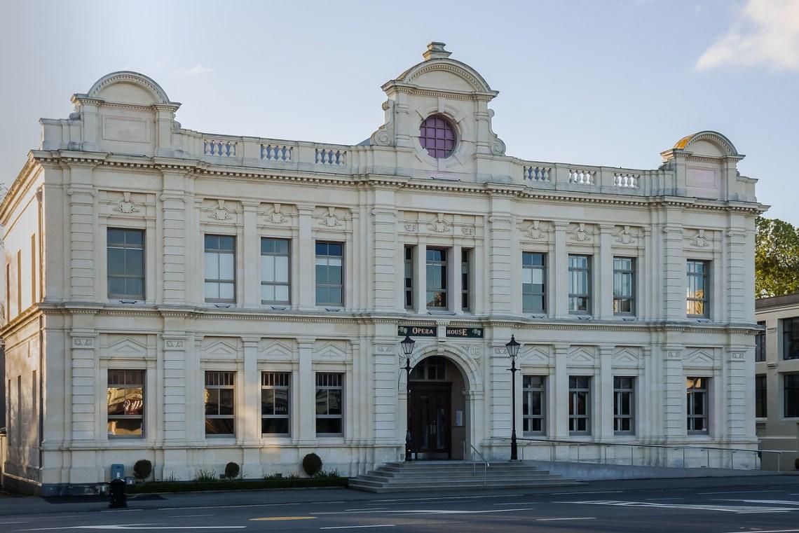 Victorian Building, The Opera House, in Oamaru