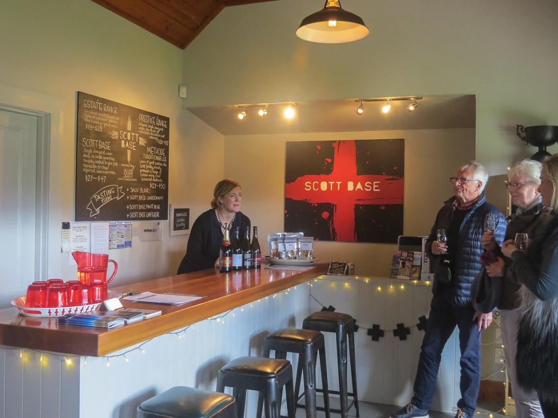 Scott Base tasting room