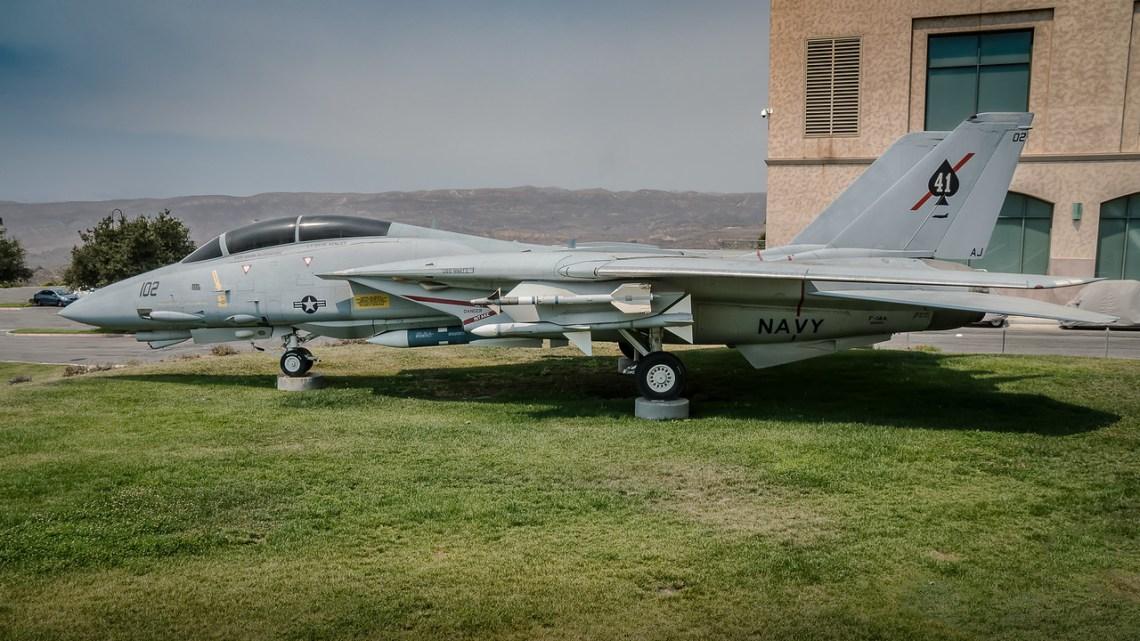 Grumman F-14 Tomcat at Reagan Library