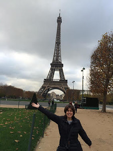 Kelly Rodriguez in Paris