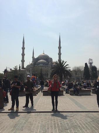 Trish in Istanbul, Turkey