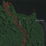 Rocky Point @Lake Massebesic 3