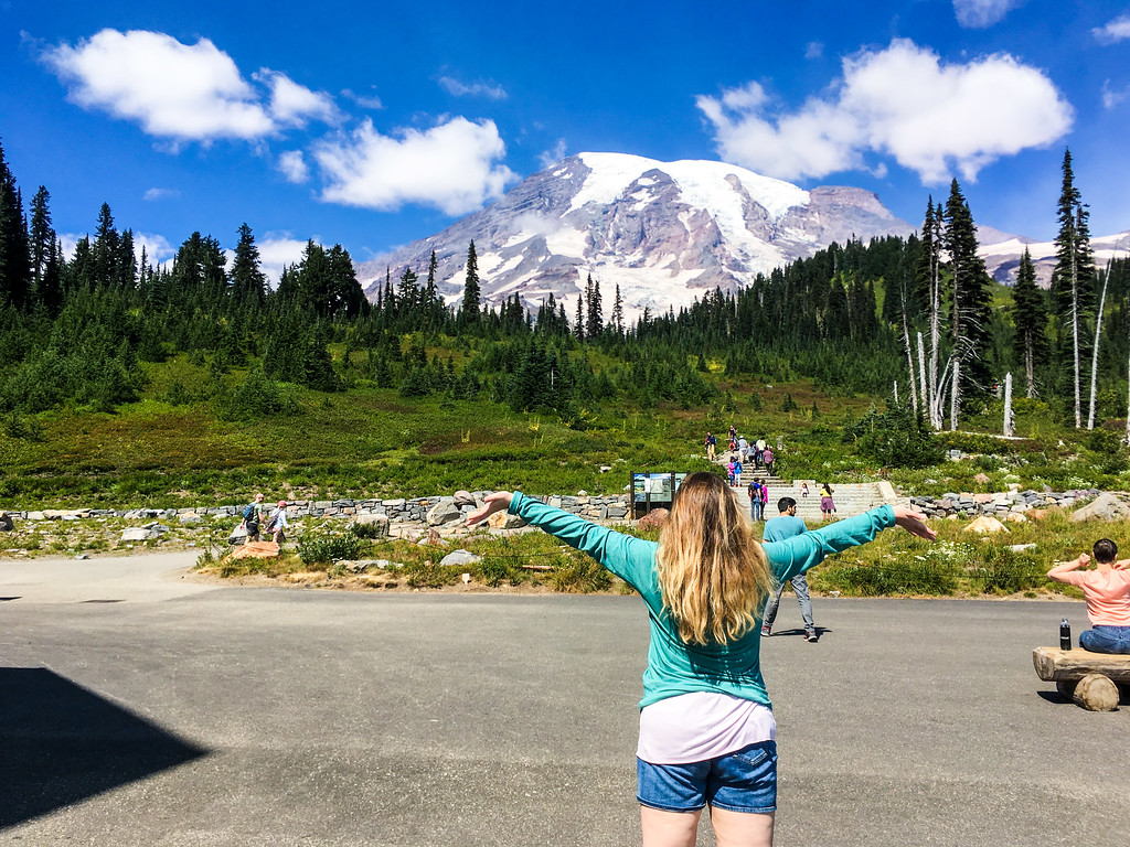 when traveling to seattle alone i took a tour to mount rainier national park