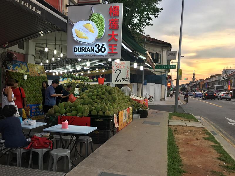 geylang durian
