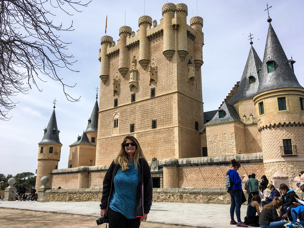 Solo Travel Madrid Tip: Visit Segovia ASAP with it's gorgeous castle