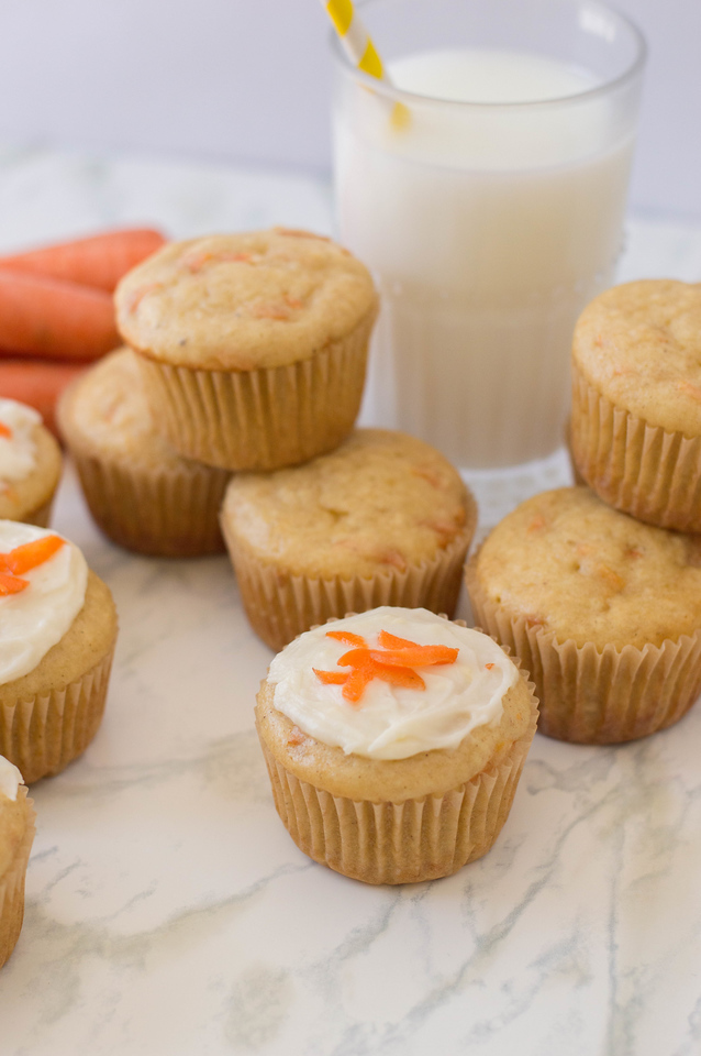 These Carrot Cake Muffins are so delicious and comforting, and perfect for your spring or Easter spread this year. Or leave them out for the Easter Bunny!