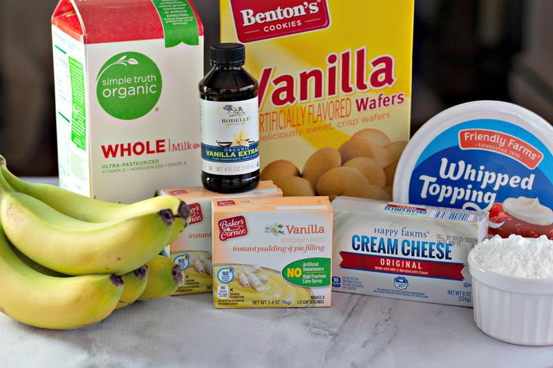 dessert ingredients for pudding