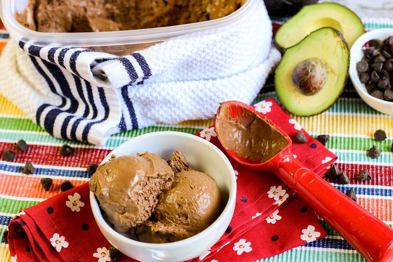 creamy non-dairy ice cream