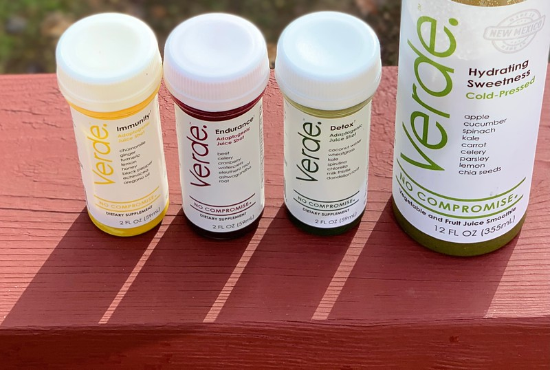 #ad Enter our Verde Juice giveaway to win a Verde Food Cleanse Kit, with 5 juices, 3 wellness shots and pecans ($115 value.) #VerdeFoodHPP