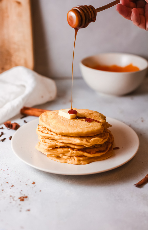 Make these Pumpkin Pancakes all fall long, as they are easy to make, absolutely delicious, and will bring loved ones together for the season.