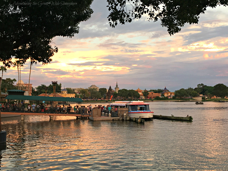 World Showcase Ferry Boat Service at Epcot, Walt Disney World