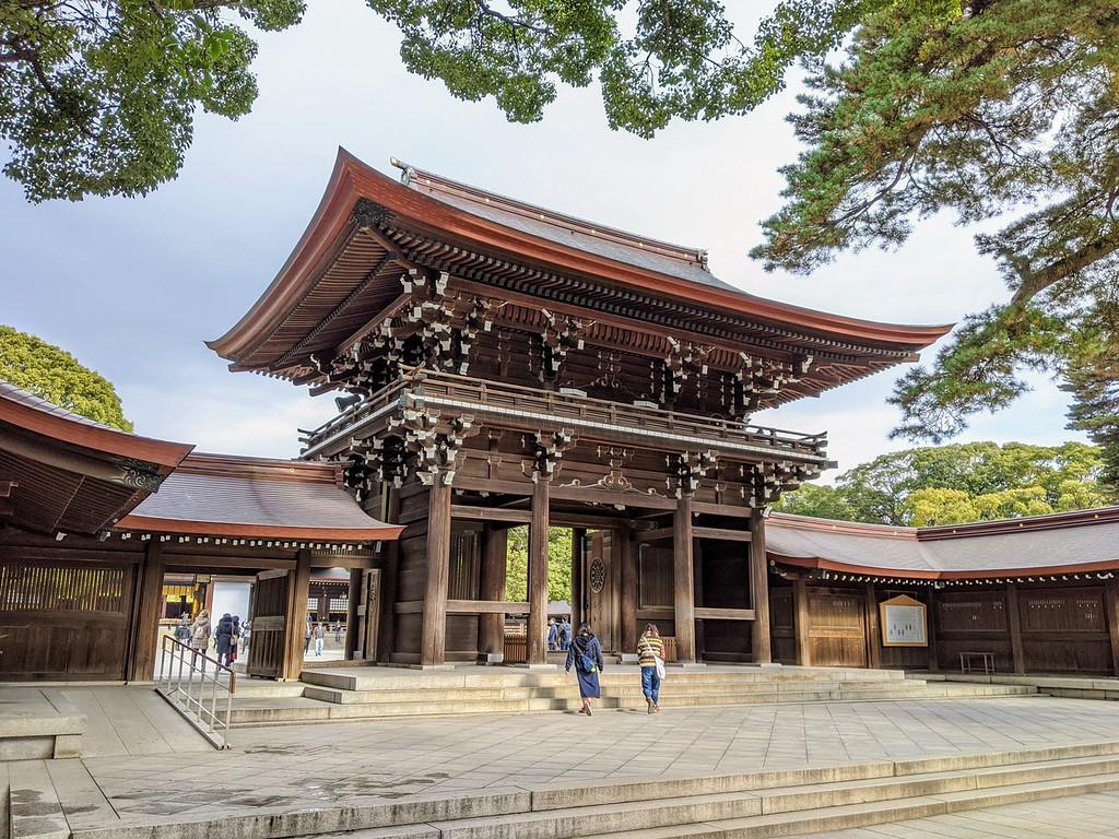 Meiji Shrine and Inner Garden