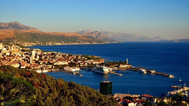 croatia harbor port haven