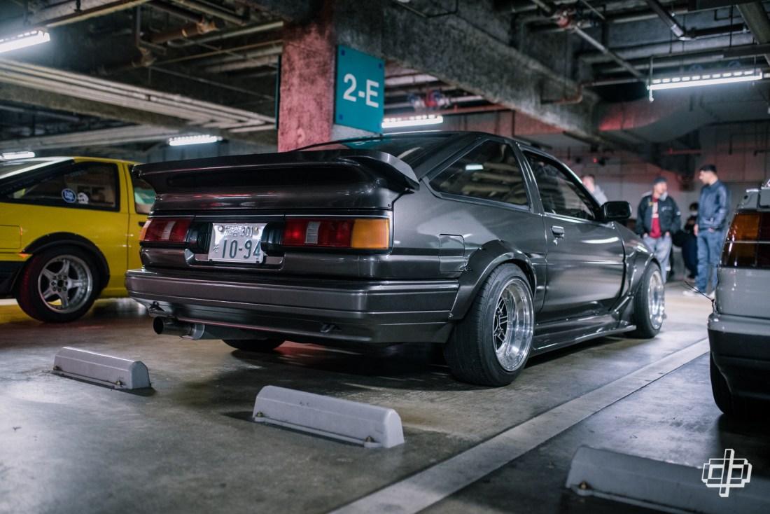 fresh tokyo car meet ae86 hachiroku dtphan