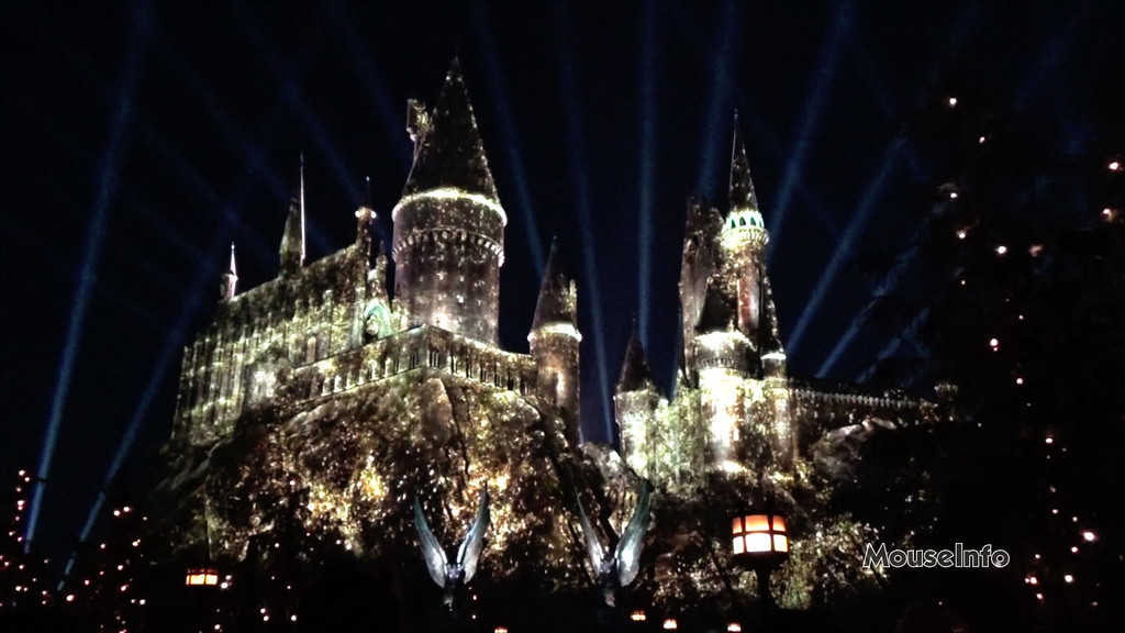 Universal Orlando to receive 'NIGHTTIME LIGHTS AT HOGWARTS CASTLE' projection mapping show