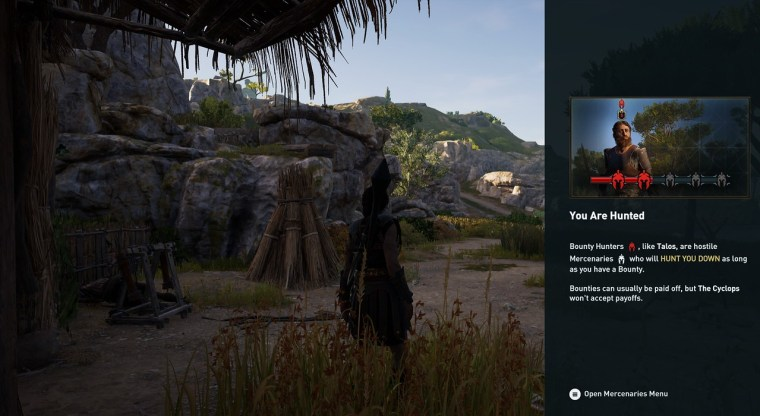 Bounty Hunter Talos assassin's creed odyssey kephallonia island