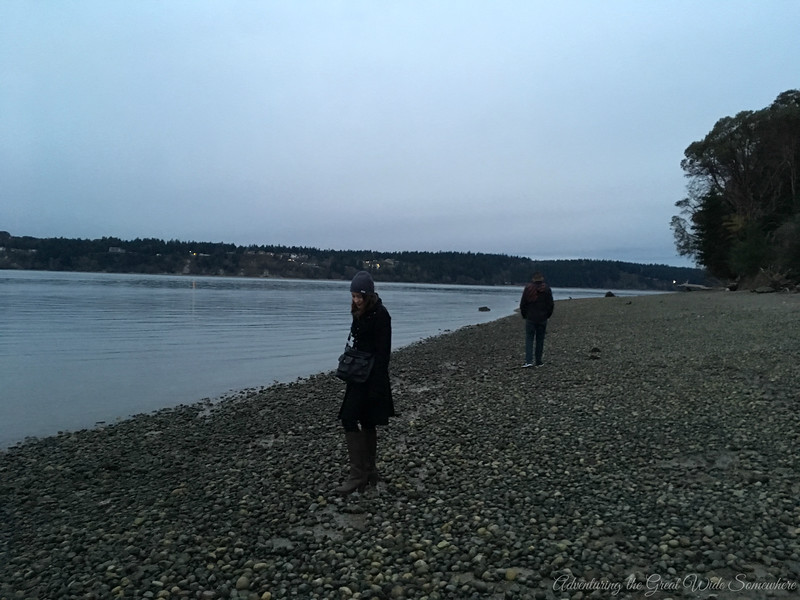 Strolling the Rocky Shores of Titlow Beach in Tacoma, Washington