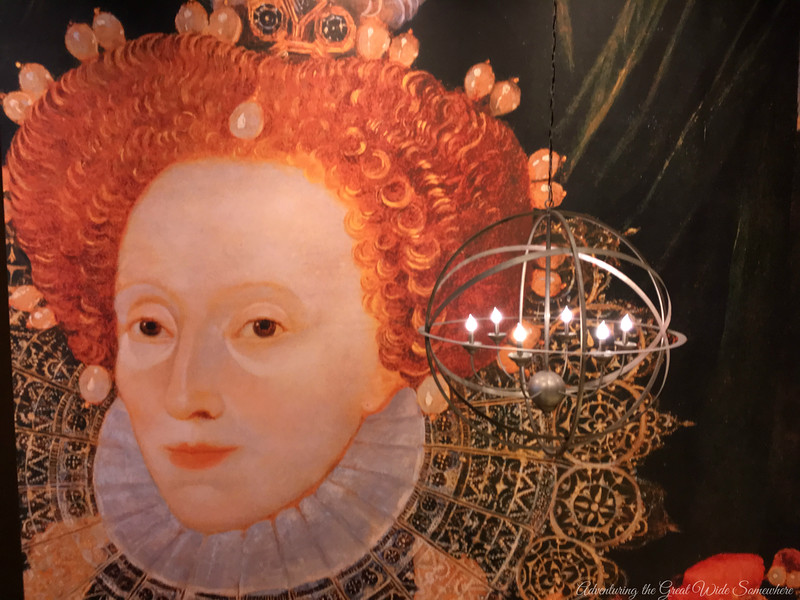 Full Wall Portrait of Queen Elizabeth I at the Wyndham Grand Orlando Resort Bonnet Creek