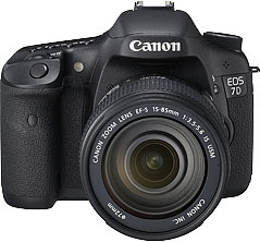 Canon EOS 7D product photograph, courtesy Canon Inc.