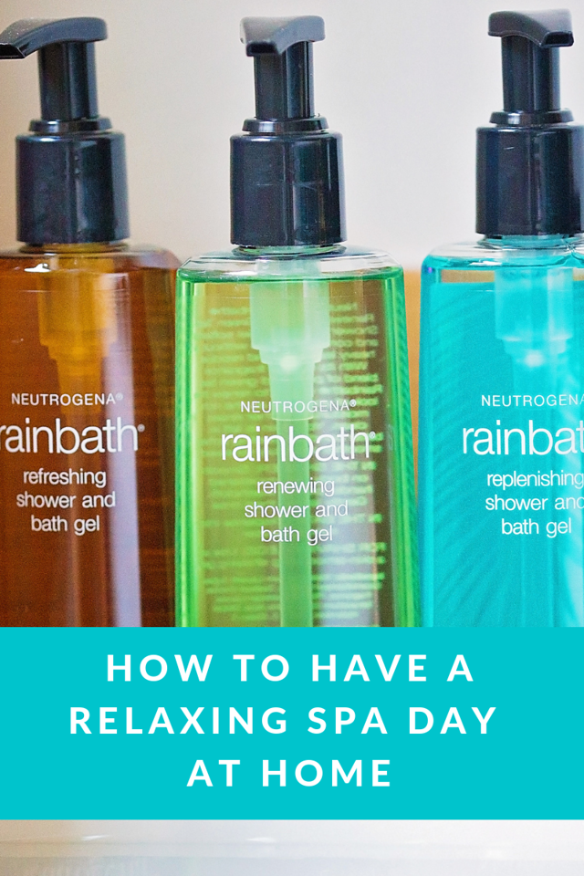 How to Have a Relaxing Spa Day at Home. Feeling stressed and badly in need of a spa day? Find out how to have one right at home! #RelaxWithRainbath #IC #AD